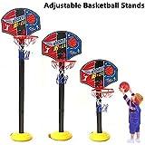 Adjustable Toddler Kid?s Mini Basketball Toy Basketball Hoop Stand Sport Set Home/OutdoorShooting Toys
