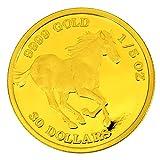 2016年製 ツバルホース金貨 1/5オンス ツバル政府発行 6.22gの純金 品位:K24 (99.99%) 《安心の本物保証》【保証書付き・巾着袋入り】 24金 純金コイン ゴールド コイン
