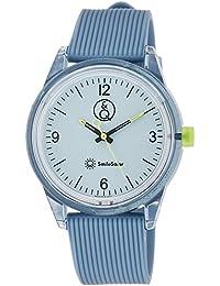 [キューアンドキュー スマイルソーラー]Q&Q SmileSolar 腕時計 ソーラー アナログ ウレタンベルト ダークブルー RP10-005