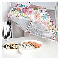 断熱食品カバーホット折りたたみ食品テントホットポップアップ傘防水アルミ箔再利用可能な保護食品、4個,Medium