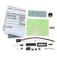 Sndy 5V Diyデジタル電圧計温度計キット電子生産