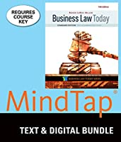 Business Law Today, Standard + Lms Integrated for Mindtap Business Law, 1 Term 6 Month Printed Access Card: Text & Summarized Cases