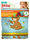 [ヌビー]Nuby Reusable Snack Bag, Mermaid NSP102 [並行輸入品]