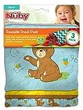 [ヌビー]Nuby Reusable Snack Bag, Mermaid NSP102 [並行輸入品]