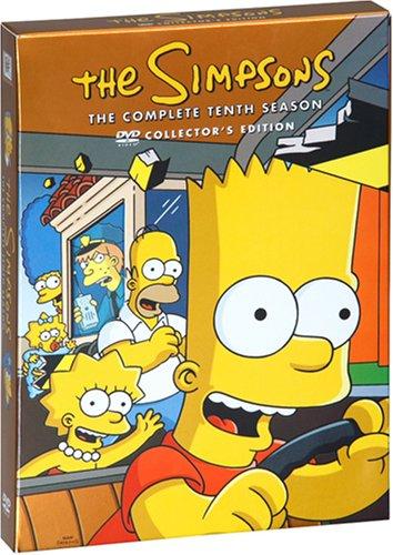 ザ・シンプソンズ シーズン10 DVDコレクターズBOXの詳細を見る