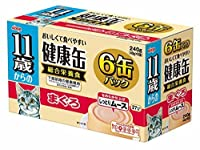 11歳健康缶ムースまぐろ40g×6 おまとめセット【6個】