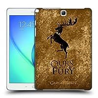 オフィシャルHBO Game Of Thrones Baratheon ダーク・ディストレス ハードバックケース Samsung Galaxy Tab A 9.7
