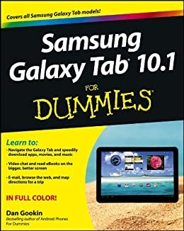 Samsung Galaxy Tab 10.1 For Dummies by [Gookin, Dan]