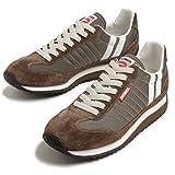 パトリック レディース メンズ マラソン スニーカー PATRICK MARATHON 94715 HILL ブラウン/グレー 靴 (36 (23.0cm), HILL (ブラウン×グレー))