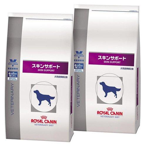 【4袋セット】ロイヤルカナン 食事療法食 犬用 スキンサポート ドライ 1kg