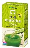 伊藤園 抹茶 matcha LOVE (SWEET MATCHA POWDER) 有糖抹茶 12g×5本 (スティックタイプ)