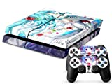 MightySticker? PS4 Designer Skin Game Console System plus Two(2) Controller Decal Vinyl Protective Covers Stickers for Sony PlayStation 4 - Hatsune Miku Vocaloid Anime Project Diva Sexy Girl by MightySticker? [並行輸入品]