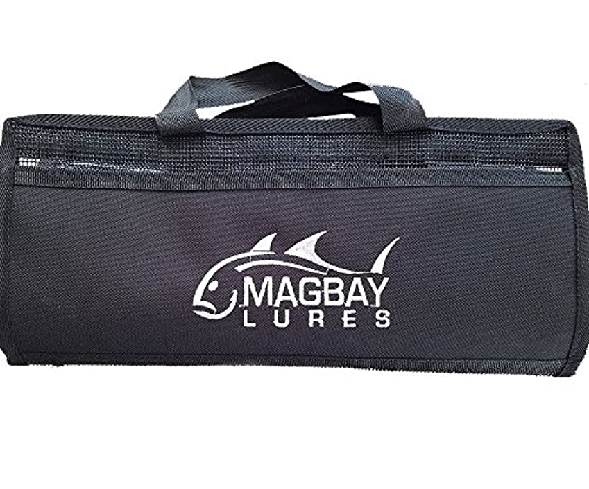 マグ毒液忌み嫌う大6ポケットmagbay Lureバッグ – 15インチ× 38インチReplacesブラックBart