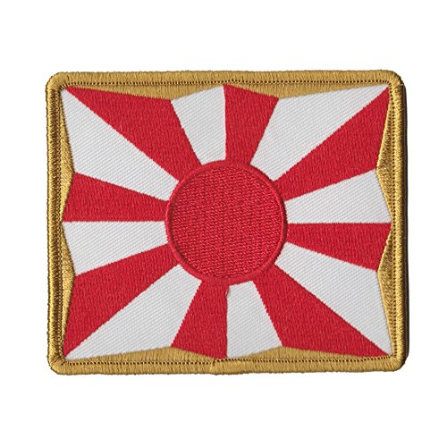 [해외]자위대 상품 문장 18 조 욱 일기/Self Defense Force Goods Patch 8 Hoshi Asahi Flag