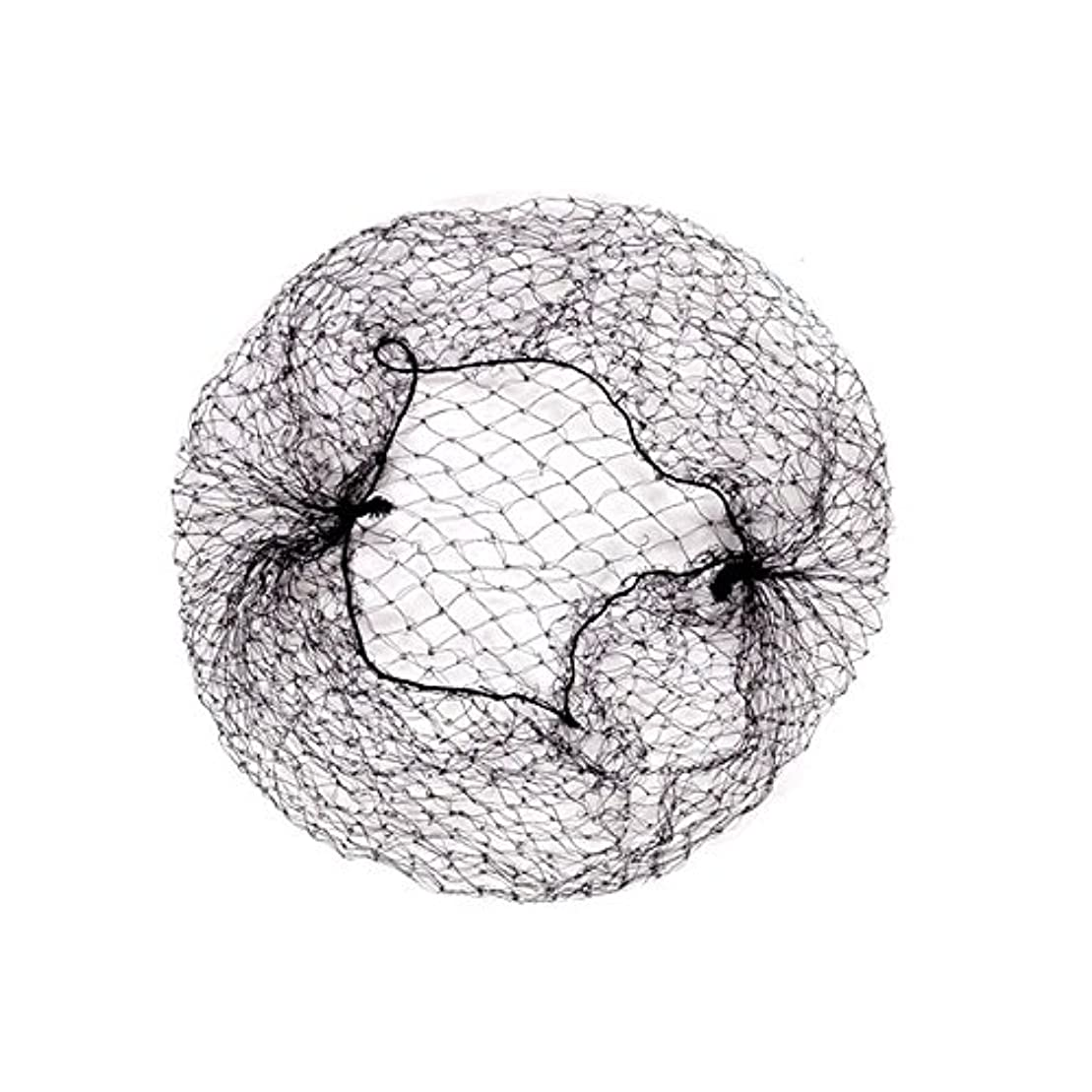 超越する専門化する中央髪束ねネットセット(アシアナネット) ファッション小物 60枚セット