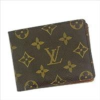 ルイヴィトン Louis Vuitton 二つ折り札入れ パスケース ユニセックス ポルトビエ?9カルトクレディ M60930 モノグラム 中古 Y296