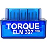 Torque Pro ELM 327 [ Android ONLY ] [ V1.5 ] OBDII OBD 2 Bluetooth Fault Code Reader - Track Recorder Camera Accessory