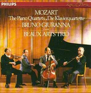 Mozart;Piano Quartets