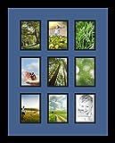 Best ArtToFramesフォトフレーム - (アートトゥフレーム) ArtToFrames コラージュフォトフレーム ダブルマット 9窓 サテンブラックフレーム カスタマイズ可 9 Review