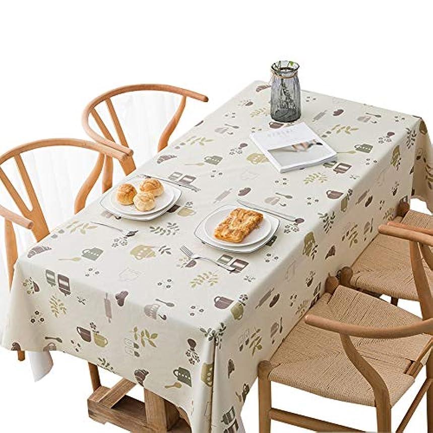 前進大きなスケールで見ると慈悲深いテーブルクロス ビニール PVC テーブルカバー 家庭用 テーブルクロス テーブルマット キッチン手入れ簡単 屋外または屋内ガーデンキッチン用