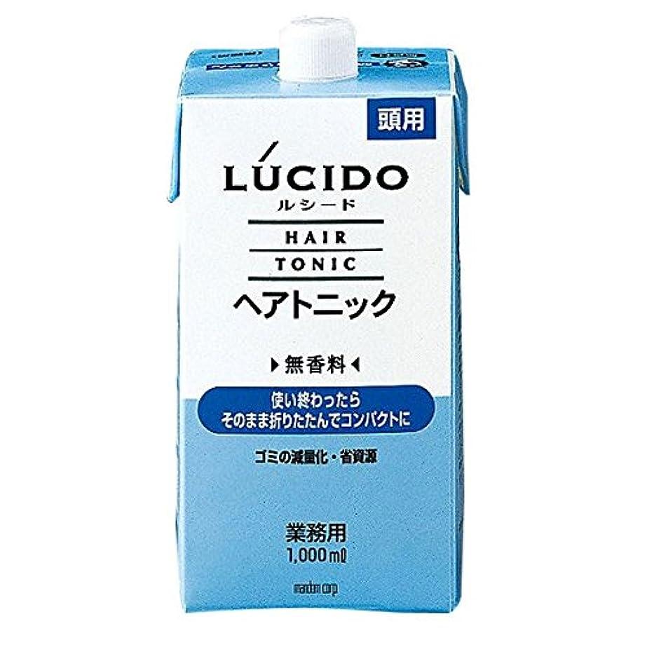 シーズンお別れ九マンダム LUCID (ルシード) ヘアトニック 1000ml