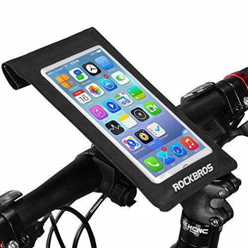 ROCKBROS(ロックブロス)自転車フレームバッグ フロントバッグ スマフ...