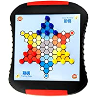 Blesiya ポータブル 脳力開発 ジャンプチェス 知育玩具 ギフト チェス盤