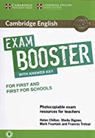 Cambridge English Exam Booster for First and First for Schools with Answer Key with Audio: Photocopiable Exam Resources for Teachers (Cambridge English Exam Boosters)