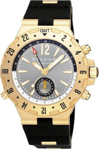 BVLGARI (ブルガリ) 腕時計 GMT40C5GVD ディアゴノプロフェッショナル ブラック メンズ [並行輸入品]