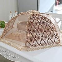 折りたたみ式フードカバー、立体刺繍加工、防塵防蚊、3仕様、直径80cm