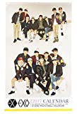 EXO(エクソ) 2017年度壁掛けカレンダー