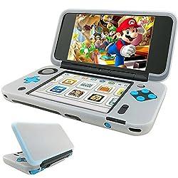 HEYSOTP NEW Nintendo 2DS LL カバー シリコンカバー ニンテンドー 2DS ソフトケース 任天堂 ソフトカバー 全面保護 高品質保護カバー