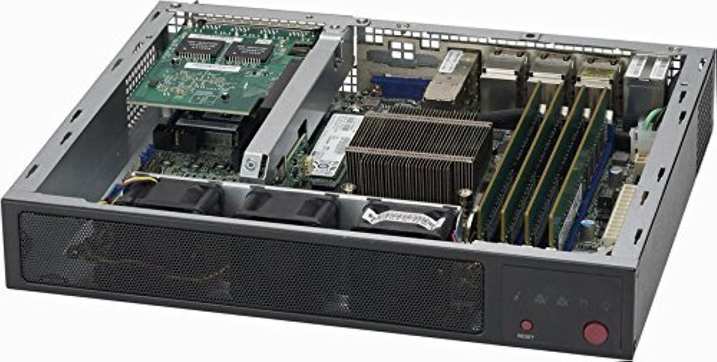 ジョイントブラウザ剪断SuperMicro SCE300 - ラックマウント可能 - 1U - Flexatx (リニュー)