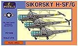 LFモデル 1/72 アメリカ空軍 シコルスキー H-5F/H-5G プラモデル LFMPE7228