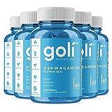 ASHWA Vitamin Gummy by Goli Nutrition - Ashwagandha and Vitamin D Gummies - Relax. Restore. Unwind. (Mixed Berry, KSM-66, Veg