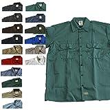 (ディッキーズ)DICKIES 1574 S/S WORK SHIRT 半袖ワークシャツ Mサイズ GULF BLUE(ガルフブルー(GB)) [並行輸入品]