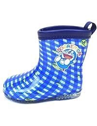 キッズ 子供 用 長靴 ドラえもん DORAEMON レインブーツ 男の子 男児 女の子 女児 雨具 保育園 小学生 fo-47e208 18cm ブルー