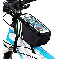 自転車 ホルダー バッグ 防水 防塵 自転車 ホルダー バイク ホルダー スマホスタンド 強力固定 防水カバー付き