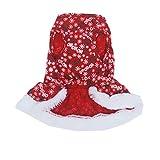 Amazon.co.jpノーブランド品 ペット 子犬 衣装 クリスマス ドレス パーカー ジャンパー 洋服 クリスマス コスチューム 全5サイズ選ぶ - XS