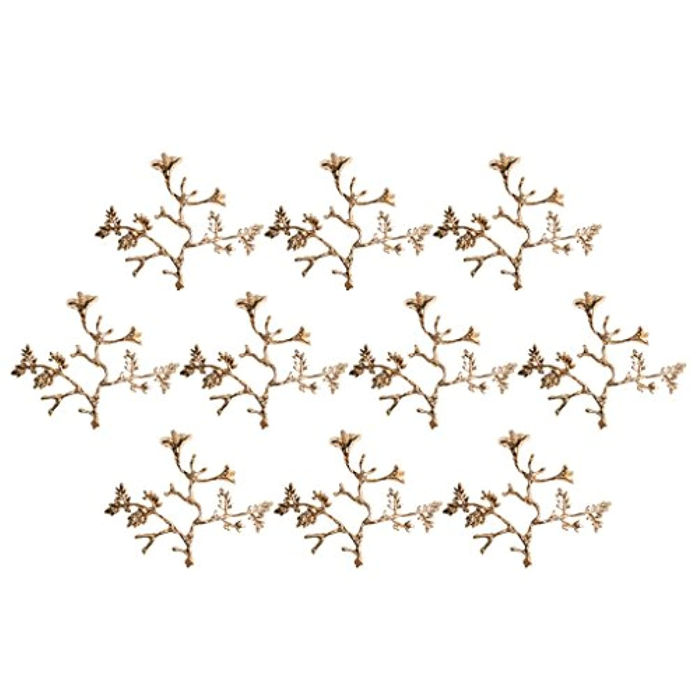 Lovoski 結婚式カラフト 工芸品 ネックレス 樹デザイン DIYジュエリー ヘアアクセサリー 髪芸周辺 10点入り