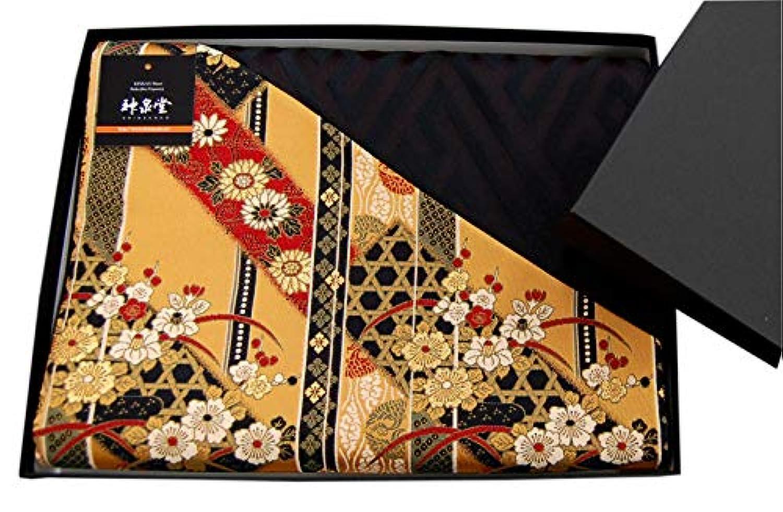 和風 着物テーブルランナー 帯 箱入り 包装済 人気 海外向けギフトにも 120cm (極)