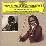 Paganini: Violin Concertos Nos. 3 & 4 by Salvatore Accardo (1990-05-03)