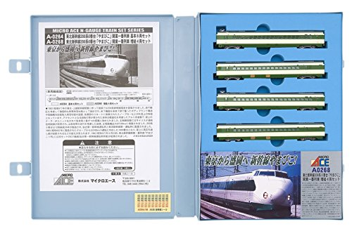 Nゲージ A0268 新幹線200系0番台 「やまびこ」開業一番列車 増結4両セット