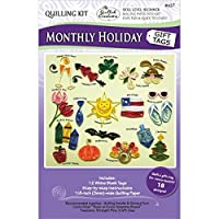 Quilled Creations Quilling Kit, Monthly Holiday Gift Tags