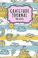 Gratitude Journal for Girls: Beach Daily Gratitude Journal for Women and Girls | Undated 100 Days | 6 x 9