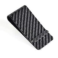 CL Carbonlife(TM)  Carbon Fiber Glossy Money Clip Credit Card Business Card Holder Black