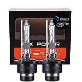Briteye(まぶしい) ヘッドライトD2R HID バルブ 35W 高品質 純正交換用 バルブ 6500K 12V 車用(2個入り) (D2R-6500K)