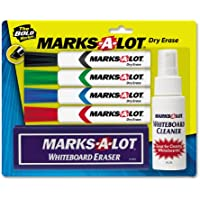 Marks-A-Lot Dry Erase Marker Kit (23503)