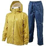 Canadian East(カナディアンイースト) Rain Wear Lady's [レインウェア レディース] (上下セット) CEW8011S マスタード/ネイビー MSNV S