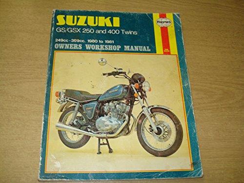 Suzuki GS/GSX250 and 400 Twins Owner's Workshop Manual